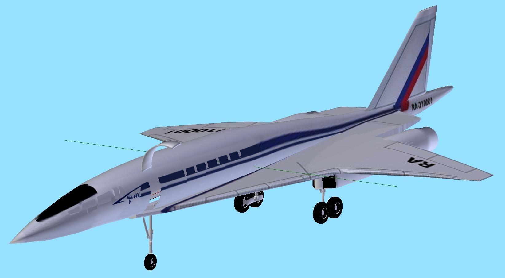 Flightgear Forum View Topic Tupolev 444 Ssbj Versus