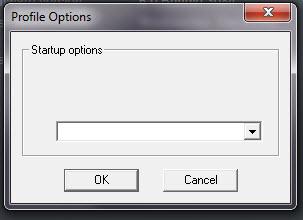Startup Options