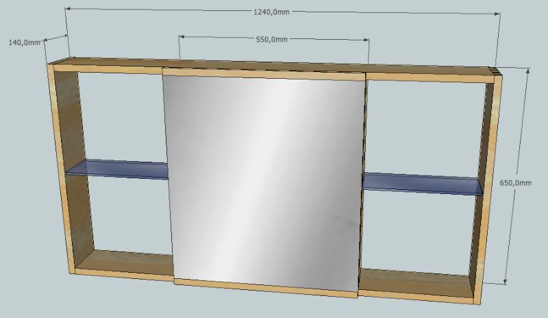 Meubles de salle de bain en robinier page 3 for Meuble au dessus du lit