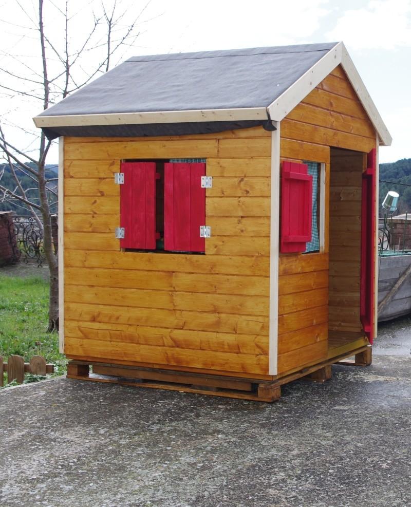 Cabane maison de jardin for Cabane de jardin maison