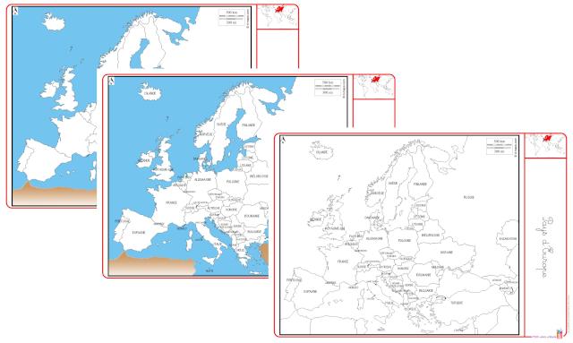 europe carte capitales