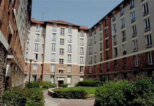 La création de l'Hospice Intercommunal de FONTENAYSOUSBOIS ~ La Poste Fontenay Sous Bois
