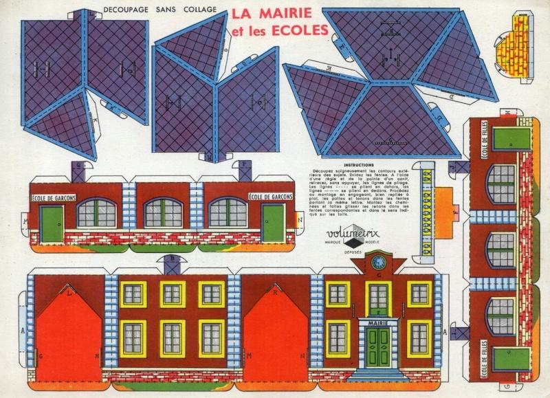 Maquette de maison en papier a imprimer ventana blog - Maison en papier a imprimer ...