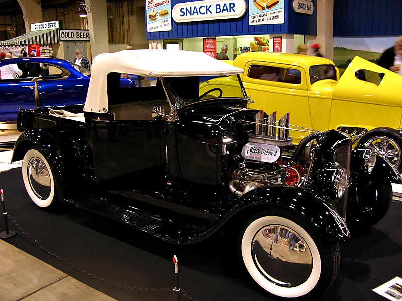 Kustom Kingdom: Black Widow 2 - Ford 1927 hot rod pick up - Rick ...