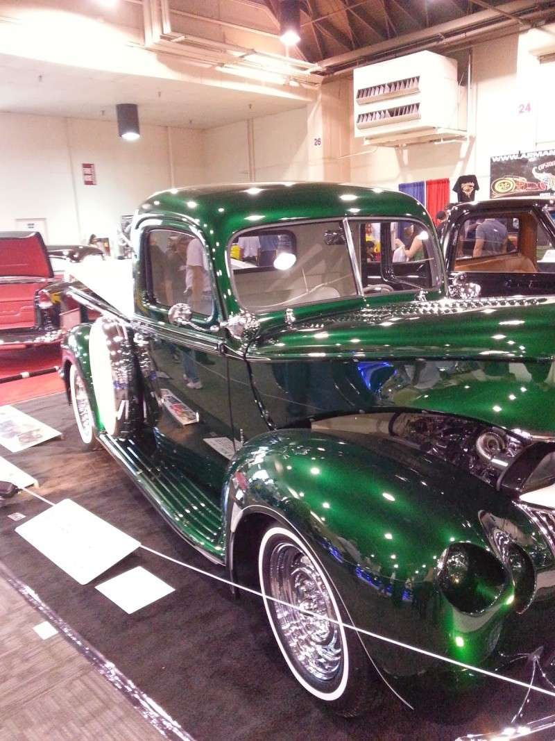 This 1941 ford pickup known as creme de menthe took a little break after the last time it was shown 50 years to be exact