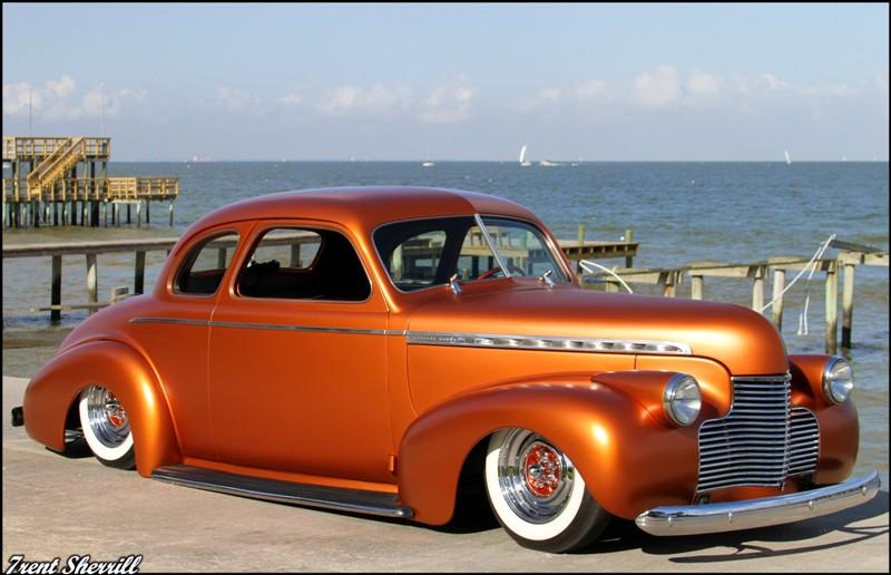 Kustom Kingdom: The Curse - 1940 Chevy coupe kustom - Gambino kustoms