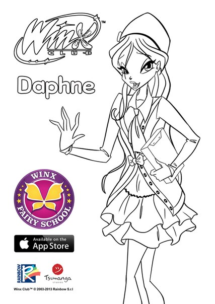 Pixie And Faire Coloring Pages