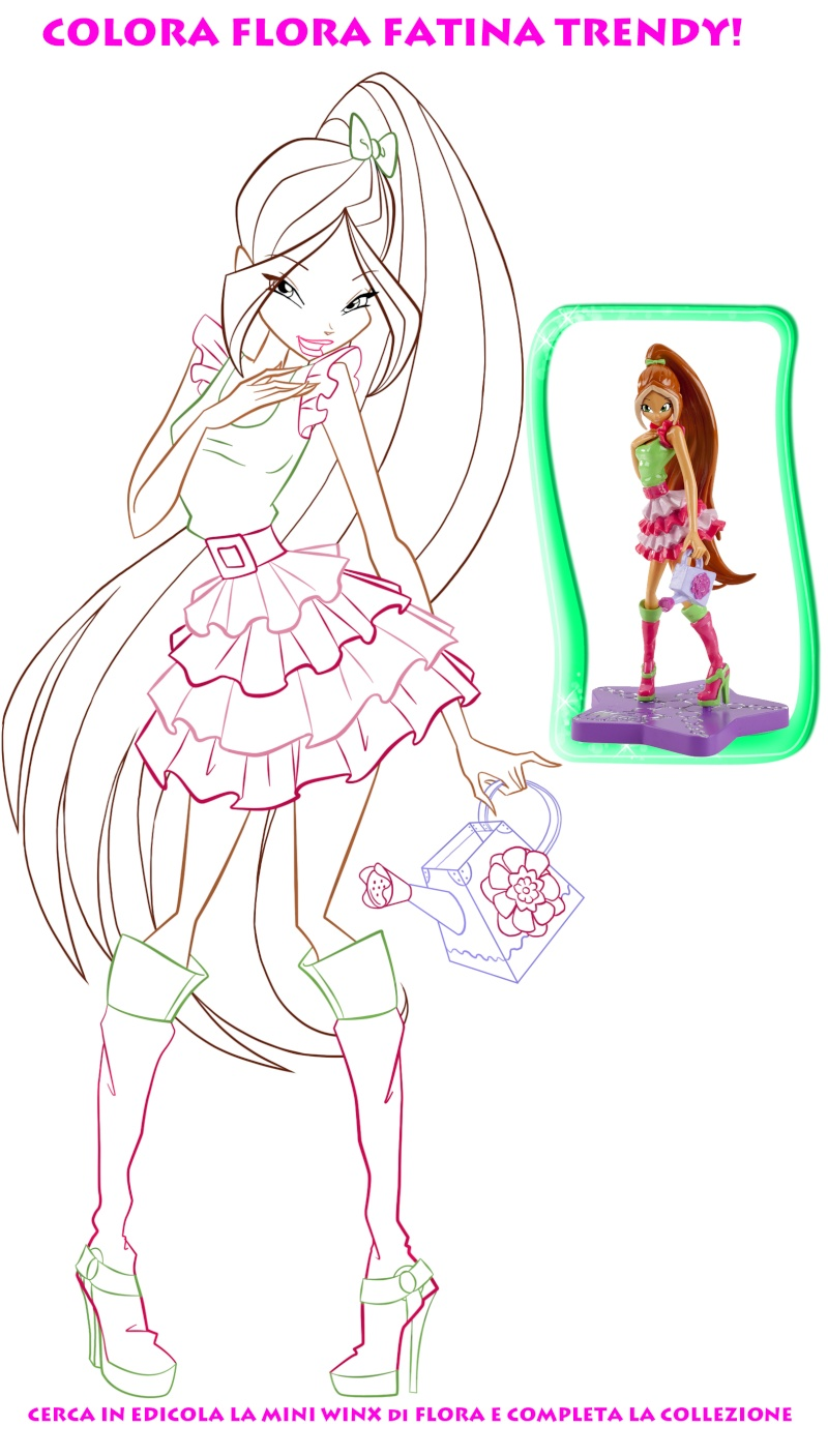 Winx Painting Games Coloring Pages Recolor