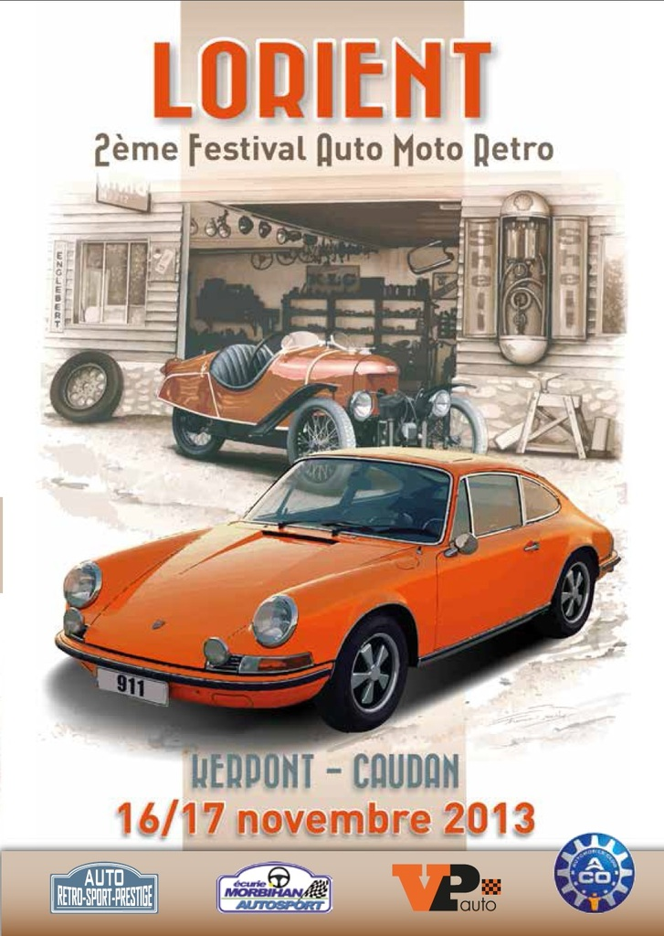 2e festival auto moto retro de lorient le 16 et 17 novembre. Black Bedroom Furniture Sets. Home Design Ideas