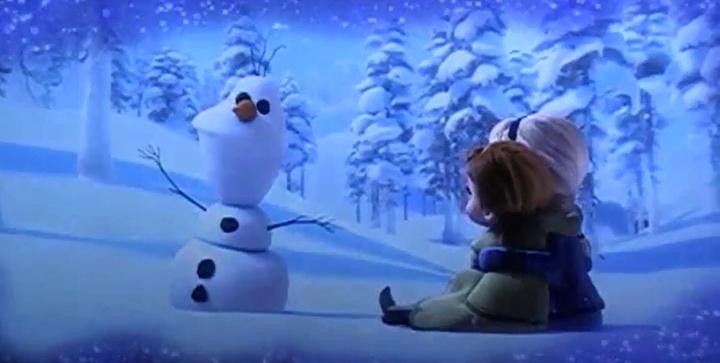Walt disney la reine des neiges 2013 attention - La reine des neiges walt disney ...