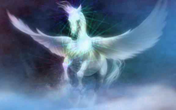 Pferde-Engel der Erde