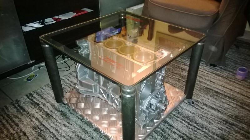 Table Basse Avec Moteur De Moto ~ BRICOLAGE] Fabrication D'une Table Basse Avec Un Moteur  Page 3