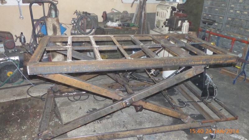 Fabrication d 39 une table de soudure l vatrice for Largeur d une table