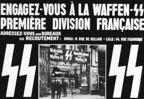 L'histoire du FN, c'est aussi la Division Charlemagne à laquelle ont appartenu nombre de fondateurs et de cadres du FN.