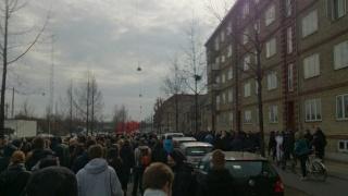 A Copenhague, un millier d'antifascistes ont tenu le pavé