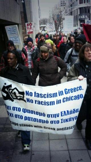 Bilinguisme de rigueur pour la manif antifa de Chicago