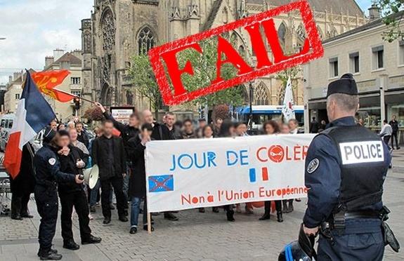 Jour de colère 2, à Caen