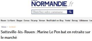 Nicolas Bay et Marine Le Pen battent en retraite