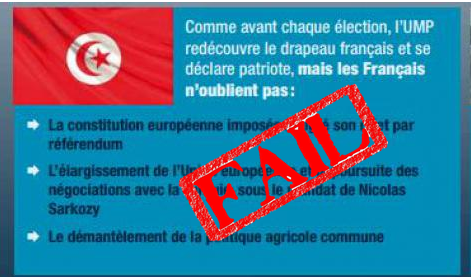 Quand  l'expert en géopolitique Aymeric Chauprade confond le drapeau Tunisien et le drapeau Turc.