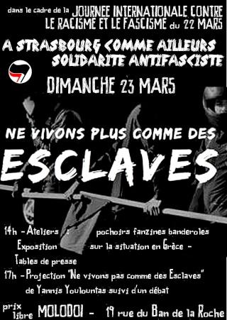 Journée antifasciste chargée à Strasbourg !