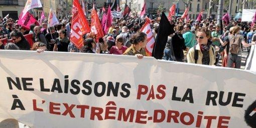 A Montpellier, ce n'est clairement pas l'extrême-droite qui tenait la rue !