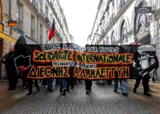 A Nantes, ils étaient 200 derrière cette magnifique banderole