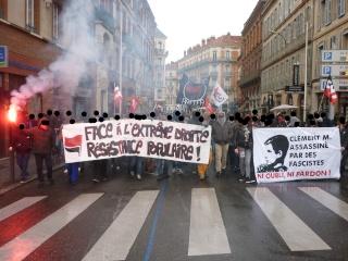 A Toulouse, ils étaient environ 300 à 400.