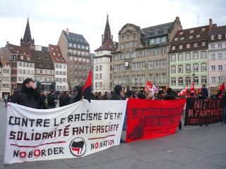 La manifestation antifa du 22 mars à Strasbourg