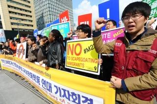 En Corée du sud aussi, le 22 mars a mobilisé