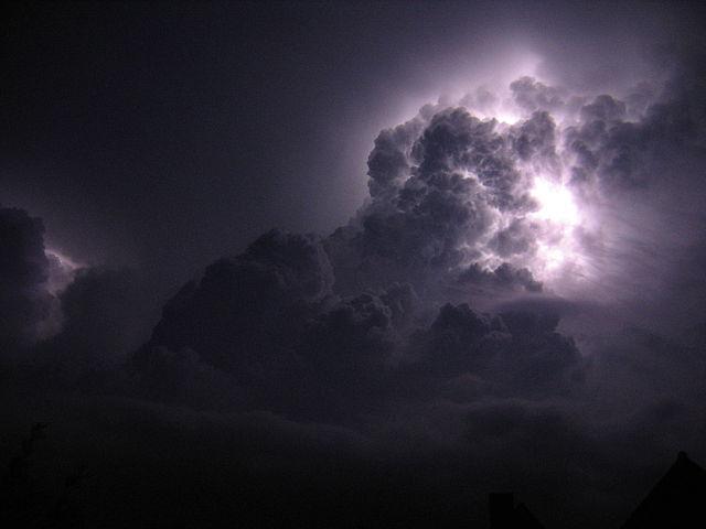 orage de nuit