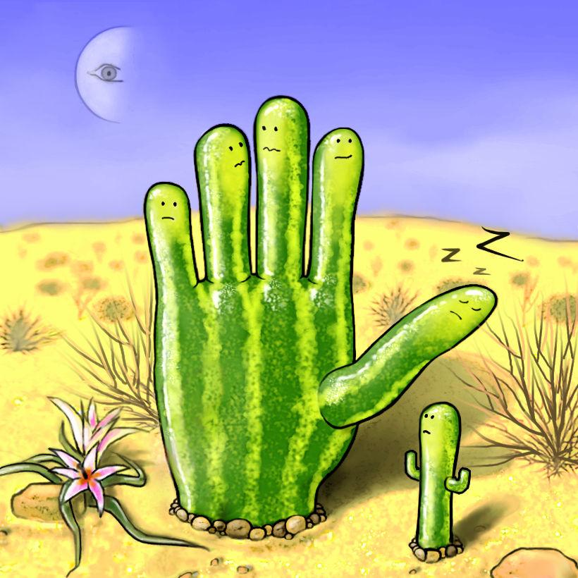 cactus dans le desert