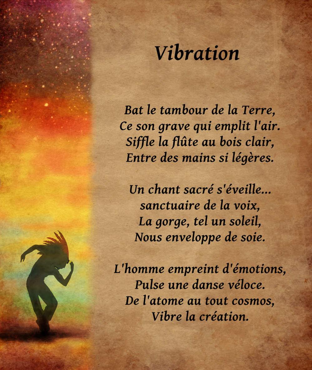 poeme vibration