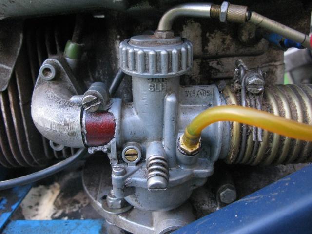 Prise d'air carburateur tondeuse