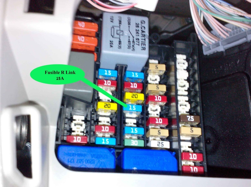 Fuse Box For Renault Megane Scenic