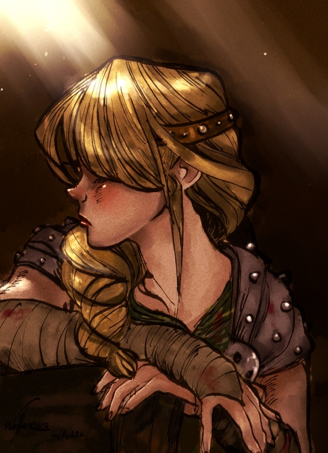 how to train your dragon astrid and hiccup sex