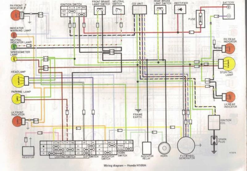 honda h100sj wiring rh caferacer forumotion com Schematic Diagram Honda Honda Motorcycle Wiring Color Codes