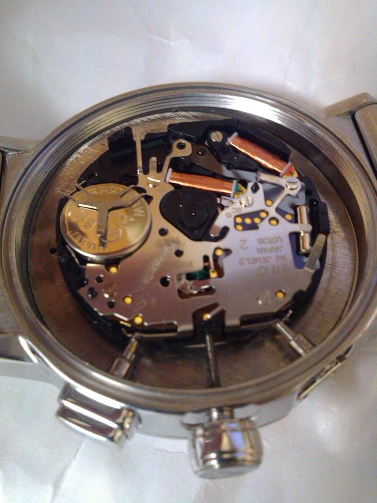 Réparer une montre pacco rabanne