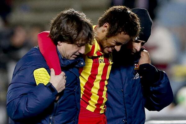 Neymar Foot Injury