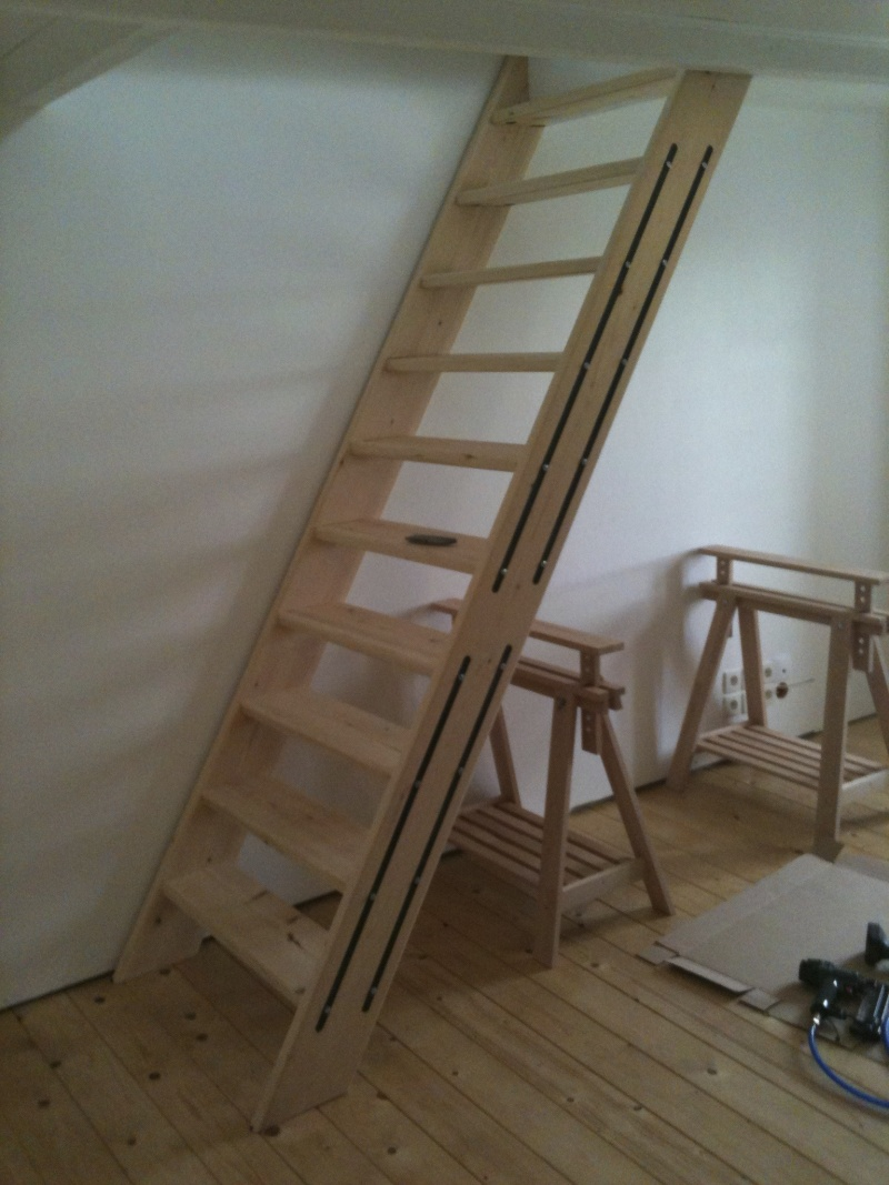 echelle de meunier. Black Bedroom Furniture Sets. Home Design Ideas