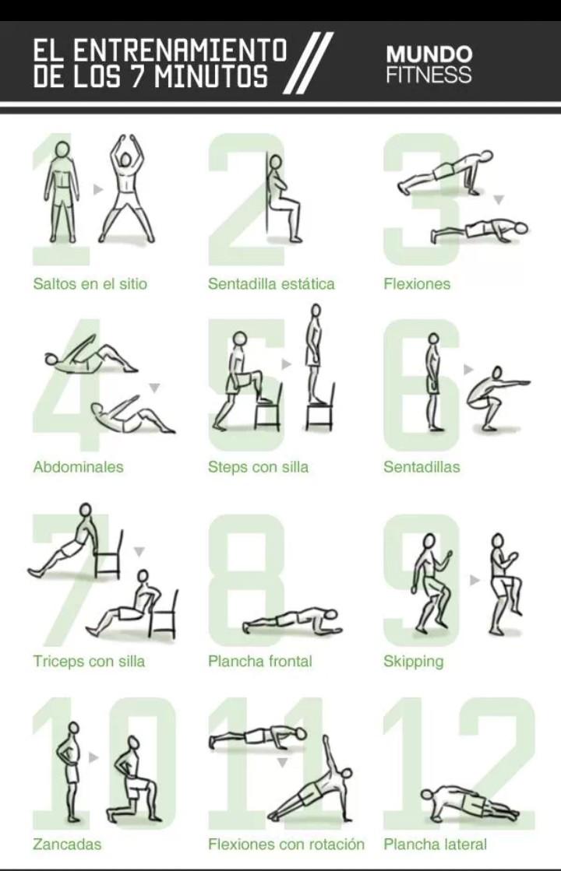 Entrenamiento - Plan de entrenamiento en casa ...