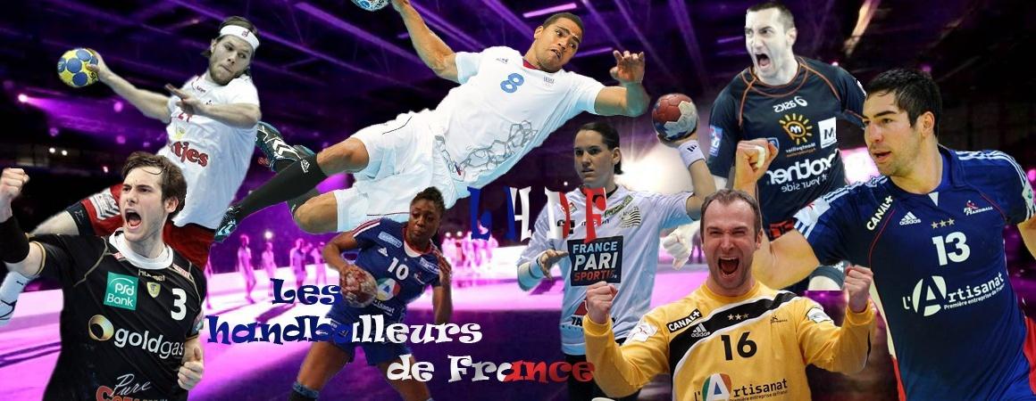 Les handballeurs de France