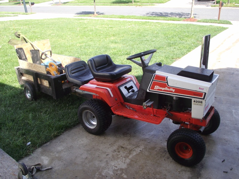 Displaying 18 images for lifted lawn mower plans car interior design - Lawn mower for small spaces decor ...