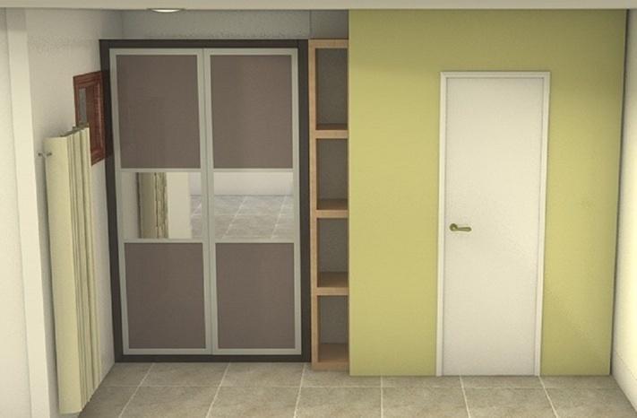 Projets de placard et decoration longs couloirs troits for Placard pour couloir